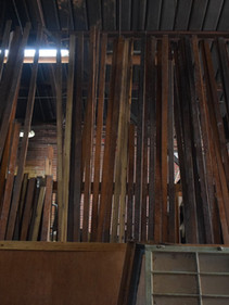 Wood flooring and trim