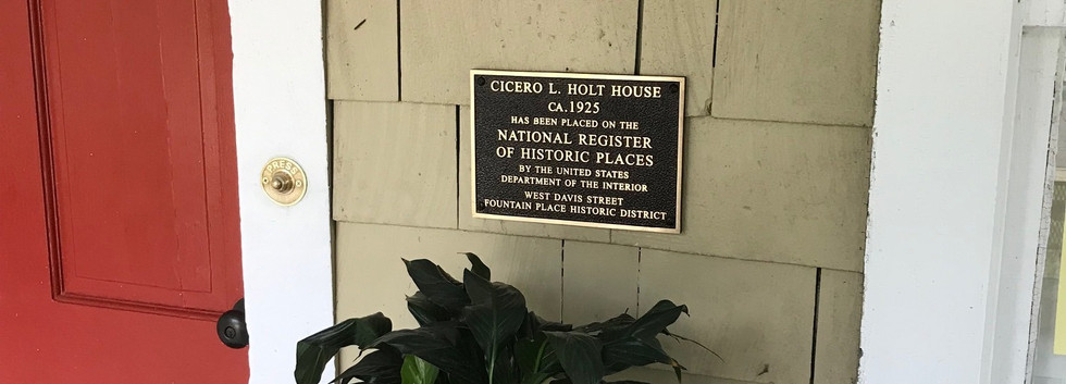 Cicero T. Holt House, ca. 1925