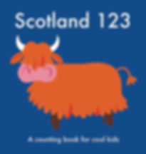 Scotland 123 counting book