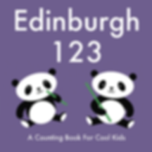 Edinburgh 123 counting book