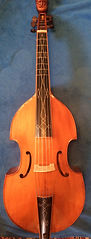 Bass viol by Clifford Roberts