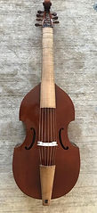 7-string bass viol by Charlie Ogle