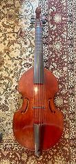 7-string Peter Tourin bass viol