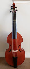 Seven String Bass Viol by Wes Brandt