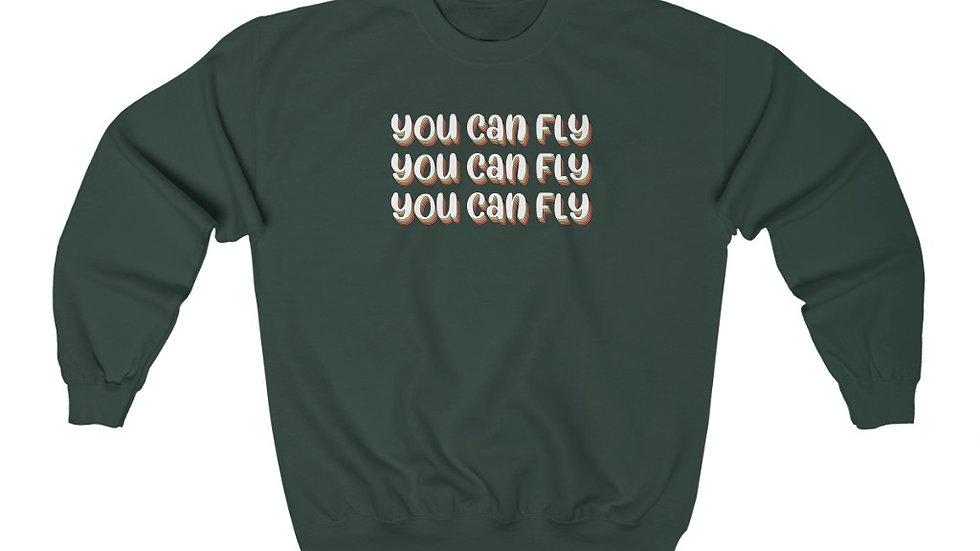 You Can Fly Crewneck Sweatshirt