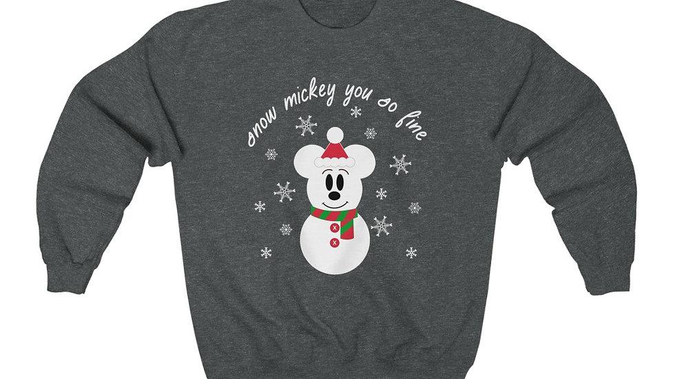 Snow Mickey Sweatshirt