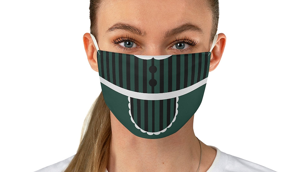 Haunted Mansion Dress Fabric Face Mask