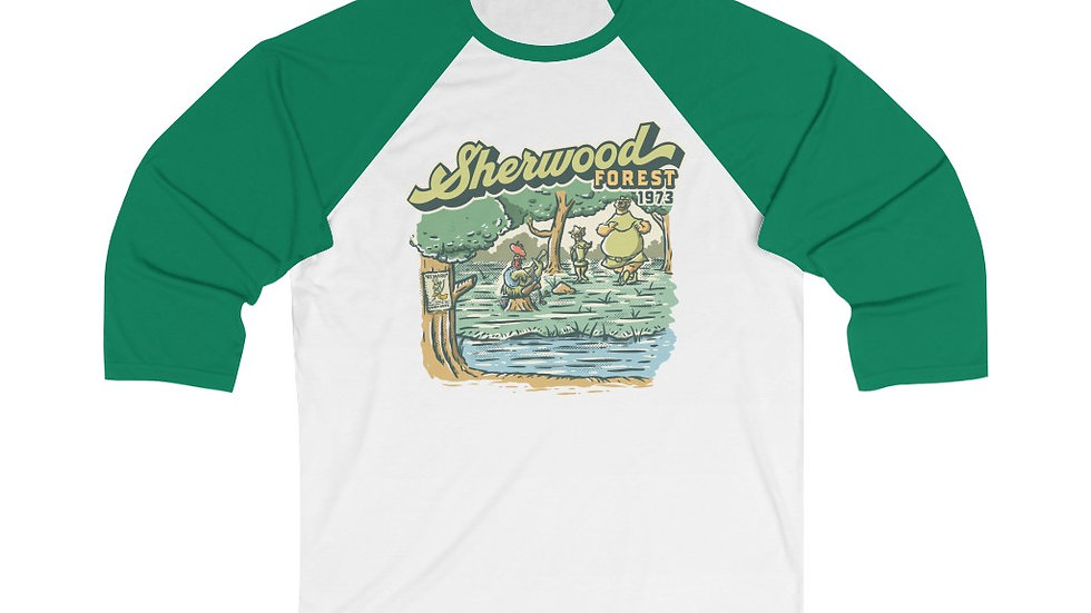 Sherwood Forest Baseball Tee