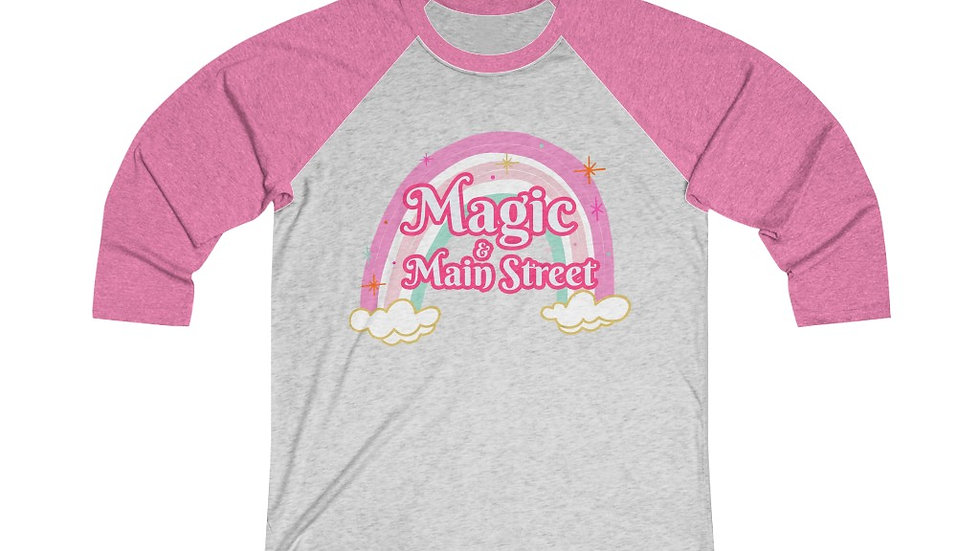 Magic & Main Street Baseball Tee