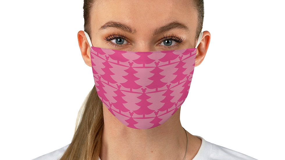 Very Mickey Christmas Pink Face Mask