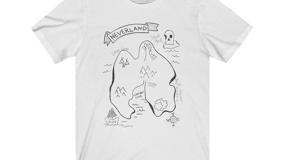 Neverland Map Tee