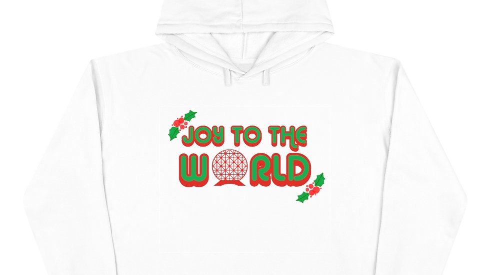 Joy to the World Crop Hoodie