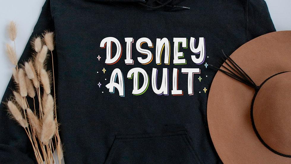 Disney Adult Hooded Sweatshirt