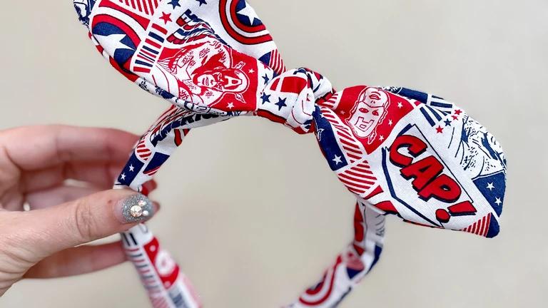 Retro Captain America Knot Band