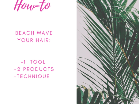 How to do a Beachy Wave on Your Own !