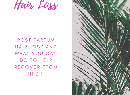 The Post-Partum Hair Struggles