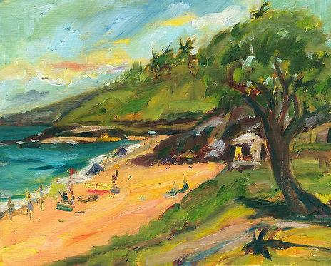 Hapuna Beach - Oil