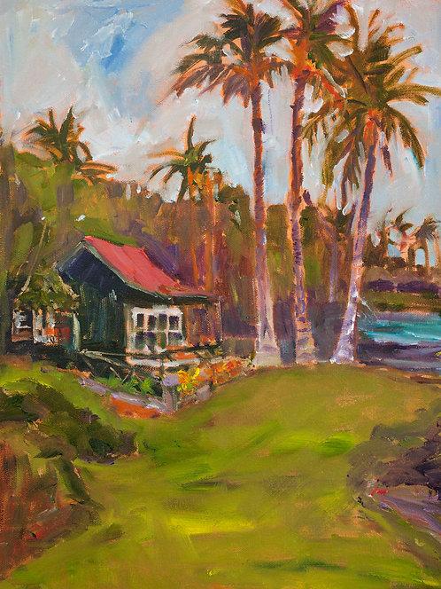 Eva Cottage South View - Oil