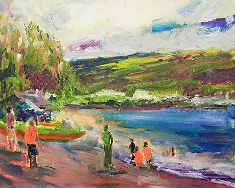 Morning Regatta Hilo Bay