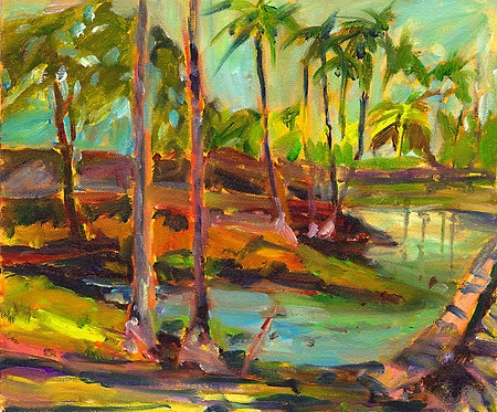 Mauna Lani Royal Ponds - Oil