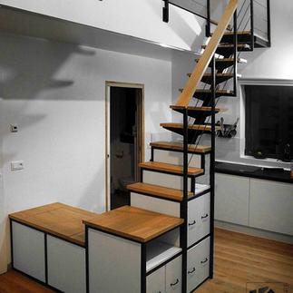 escalier- rangement