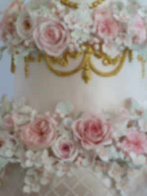 Wedding Cakes by Fabulously Floral Cakes Spalding Lincolnshire