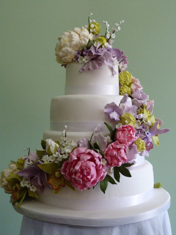 Fabulously Floral Cakes Gallery of Wedding Cake Pictures