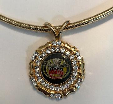 Ladies Oriental Shrine Medallion