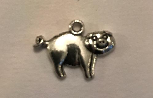 Smiling Pig Charm