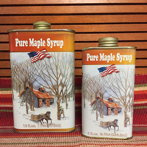 All American Tin Pure NYS Maple Syrup