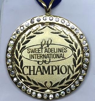 Sweet Adeline International 1st Place Medal Holder