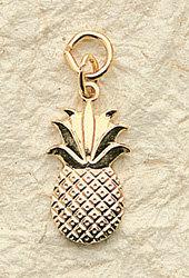 Pineapple Charm Pair
