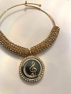 Musical Note Adjustable Bracelet