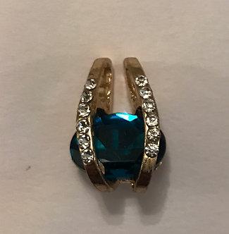 Bermuda Blue Small Pendant