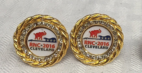 Republican National Committee 2016 Convention Cufflinks