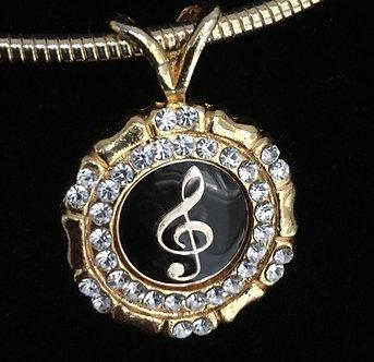 Music Note Medallion