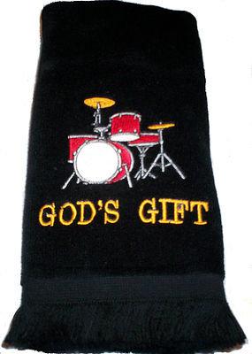GODS GIFT DRUMS FINGERTIP TOWEL