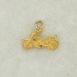 Motorcycle Charm Pair