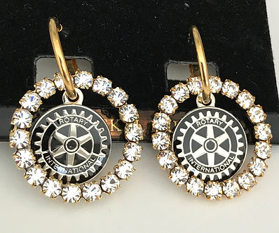 Rotary International Earring Set