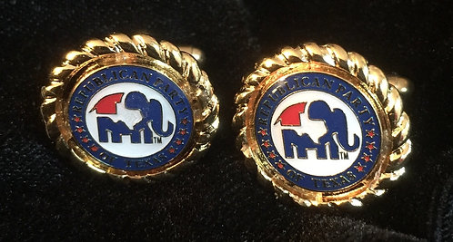 Republican Party of Texas Rope Cufflinks