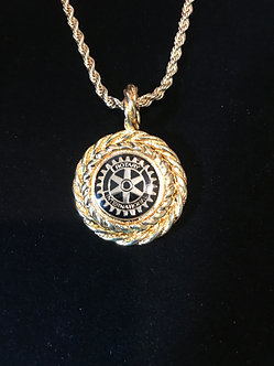 Rotary International Rope Medallion