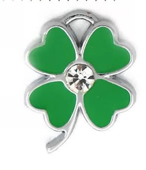 Four Leaf Clover Charm Pair