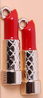 Lipstick Charm Pair
