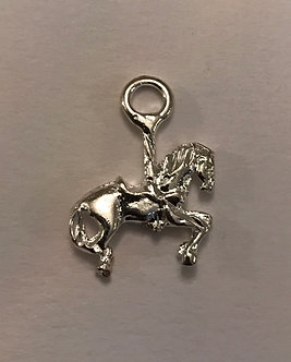 Carousel Horse Charm Pair