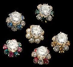 CZ 1 Carat Stud Earrings