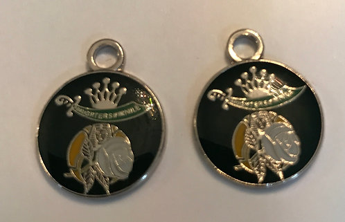 Daughters of the Nile Past Queen Charm Pair