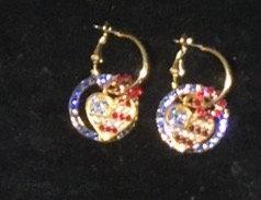 Americas Heart Earring Set