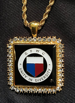 GFWC Square Medallion