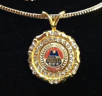 Ladies AMVET Auxiliary Medallion