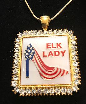 Elk Lady Medallion Set